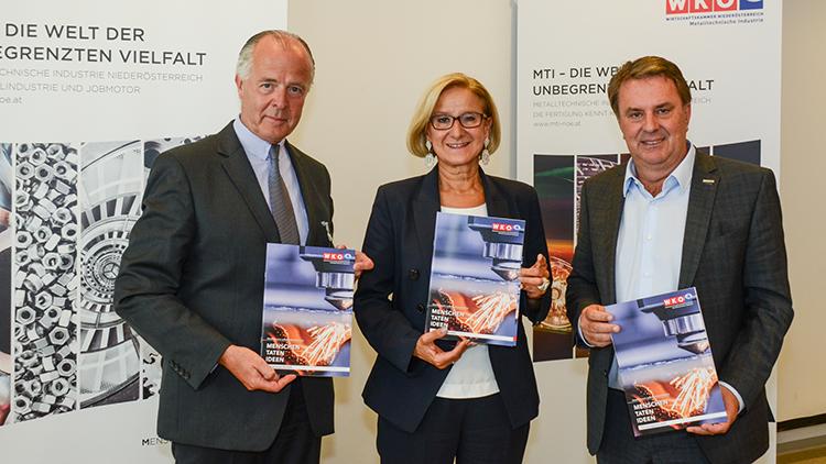 MTI präsentiert Positionspapier im Austausch mit Landeshauptfrau Mikl-Leitner und Präsident Ecker